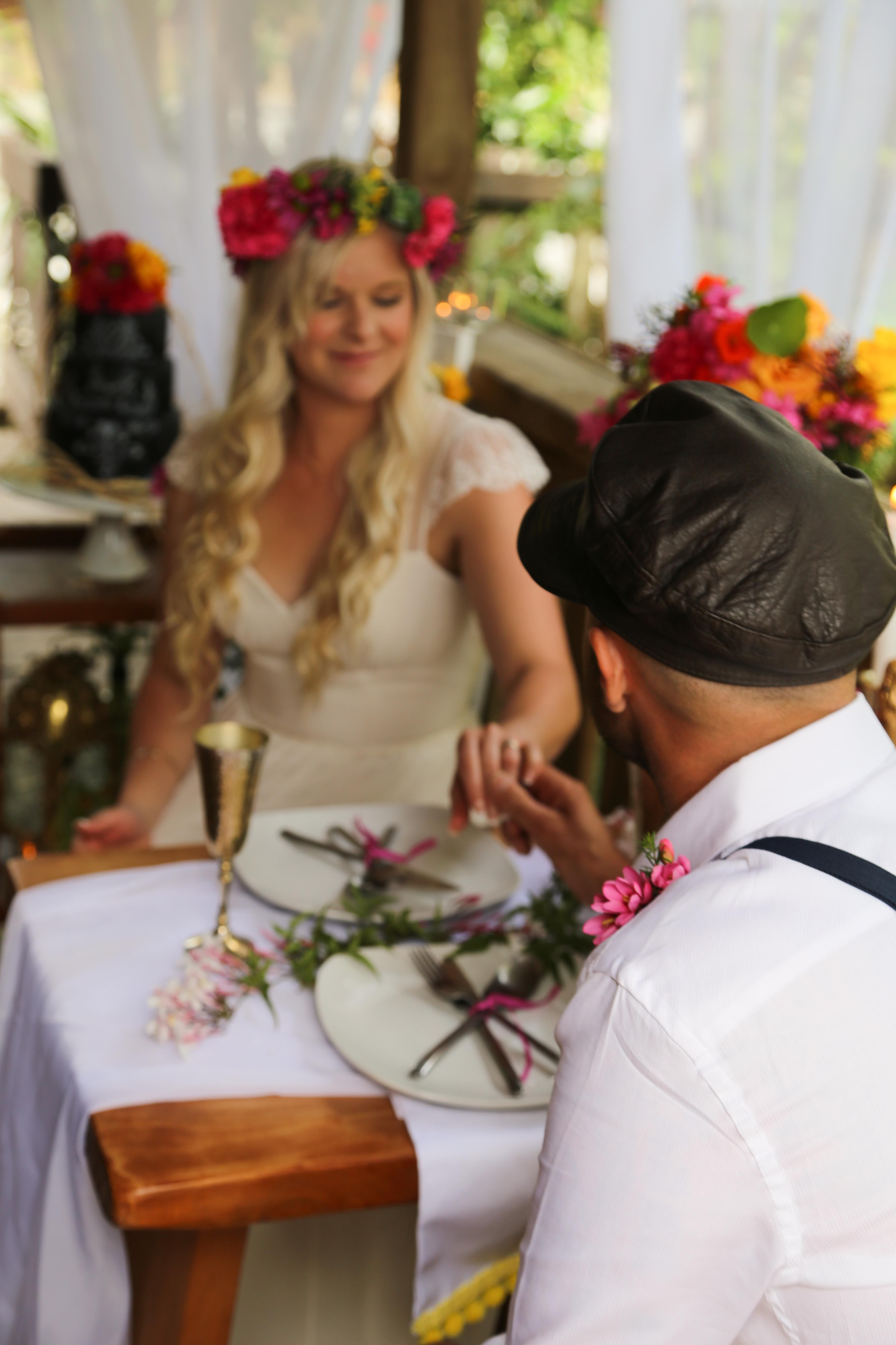 Romantic and intimate dinner for two at www.hushaccommodation.co.nz