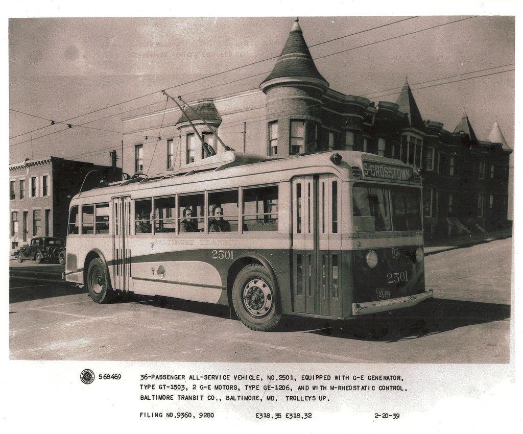 Baltimore Transit Co. All Service Vehicle Baltimore