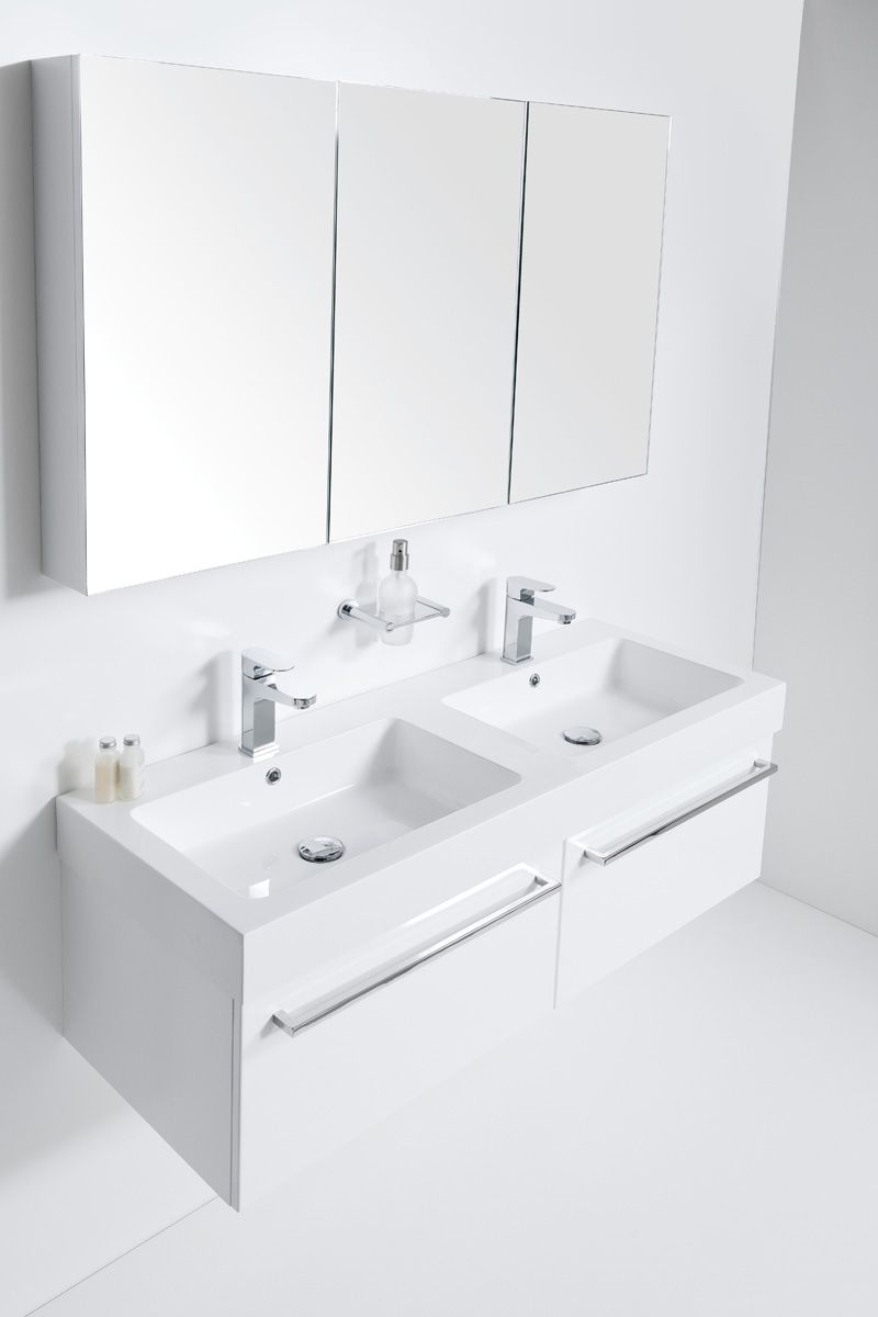 Splash 1200 Wall Hung Double Bowl Units 2 Drawers Side By Side Bath Co Bathroom Collections Bathroom Inspiration Modern Wall Mounted Bathroom Sinks