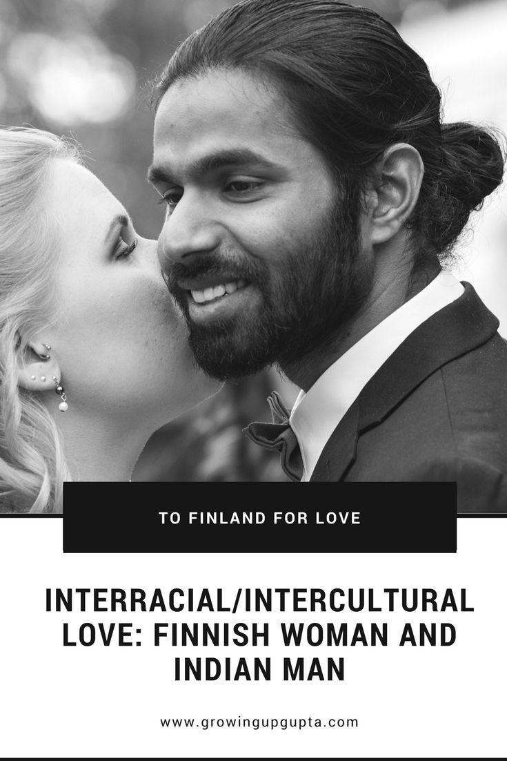 INTERRACIAL/INTERCULTURAL LOVE FINNISH WOMAN AND INDIAN