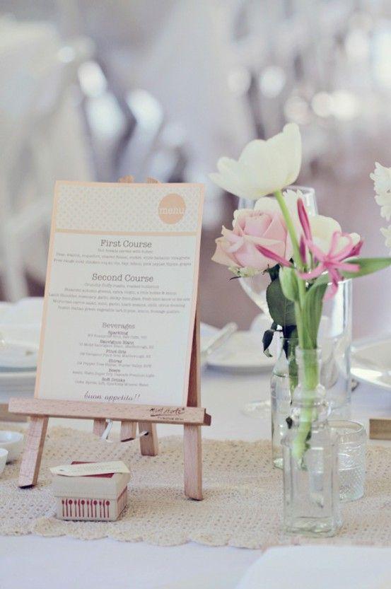 wedding details creative menu ideas deko pinterest men karten hochzeit vintage hochzeit. Black Bedroom Furniture Sets. Home Design Ideas