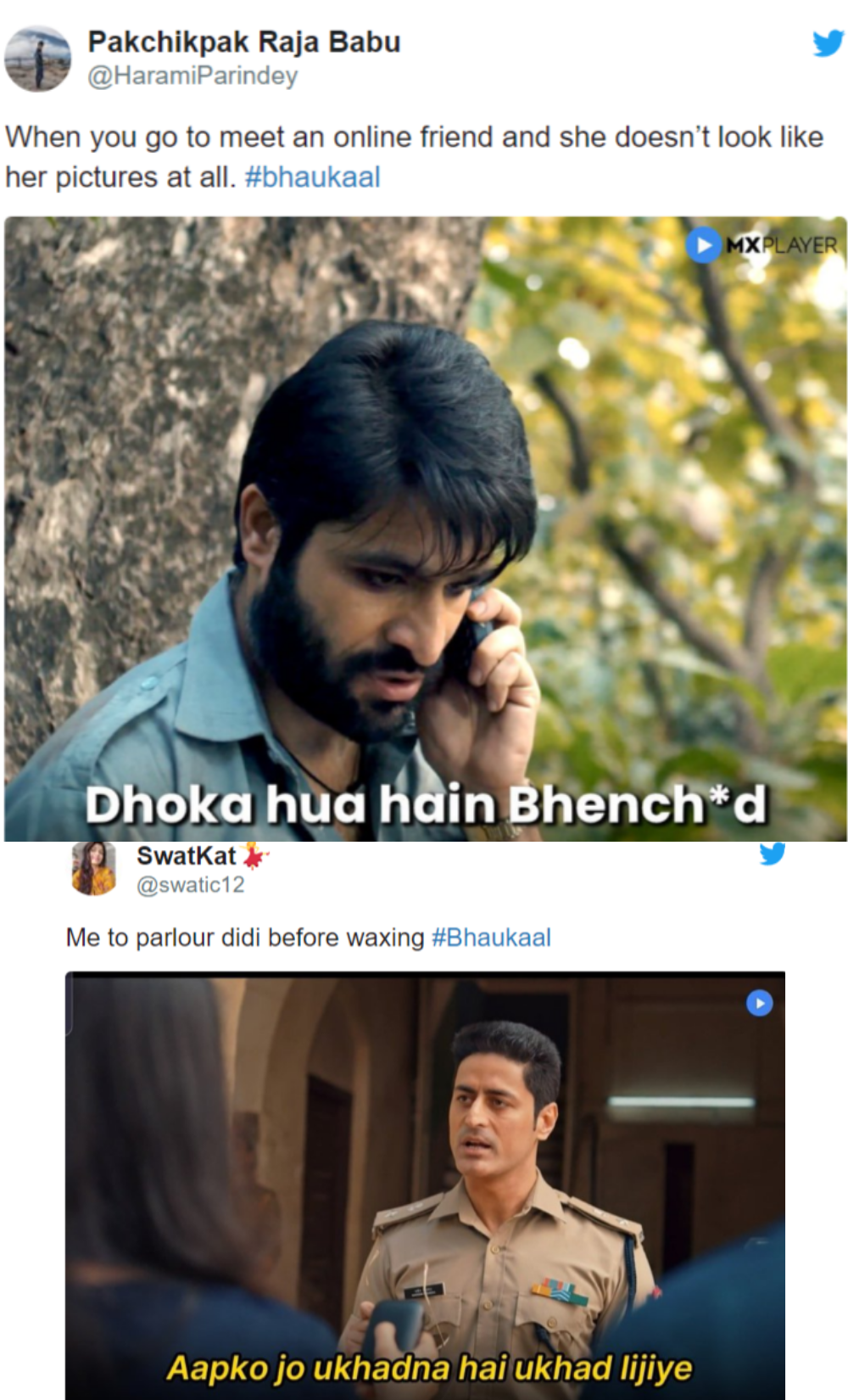 Mx Player Latest Series Bhaukaal Inspired Memes Memes Really Funny Latest Series