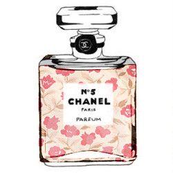 Floral Chanel Illustration Arts 2019 香水 シャネル