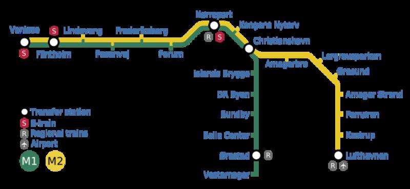 Copenhagen underground Overview Copenhagen has a rapid transit