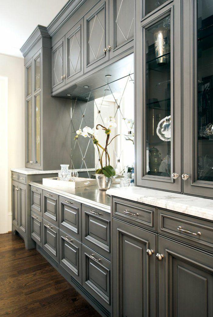 La cuisine grise, plutôt oui ou plutôt non? House - Peindre Armoire De Cuisine En Chene