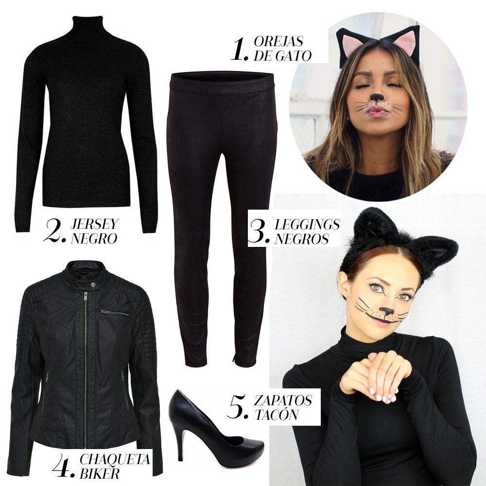 Disfraces faciles para halloween gata en 2019 Disfraces