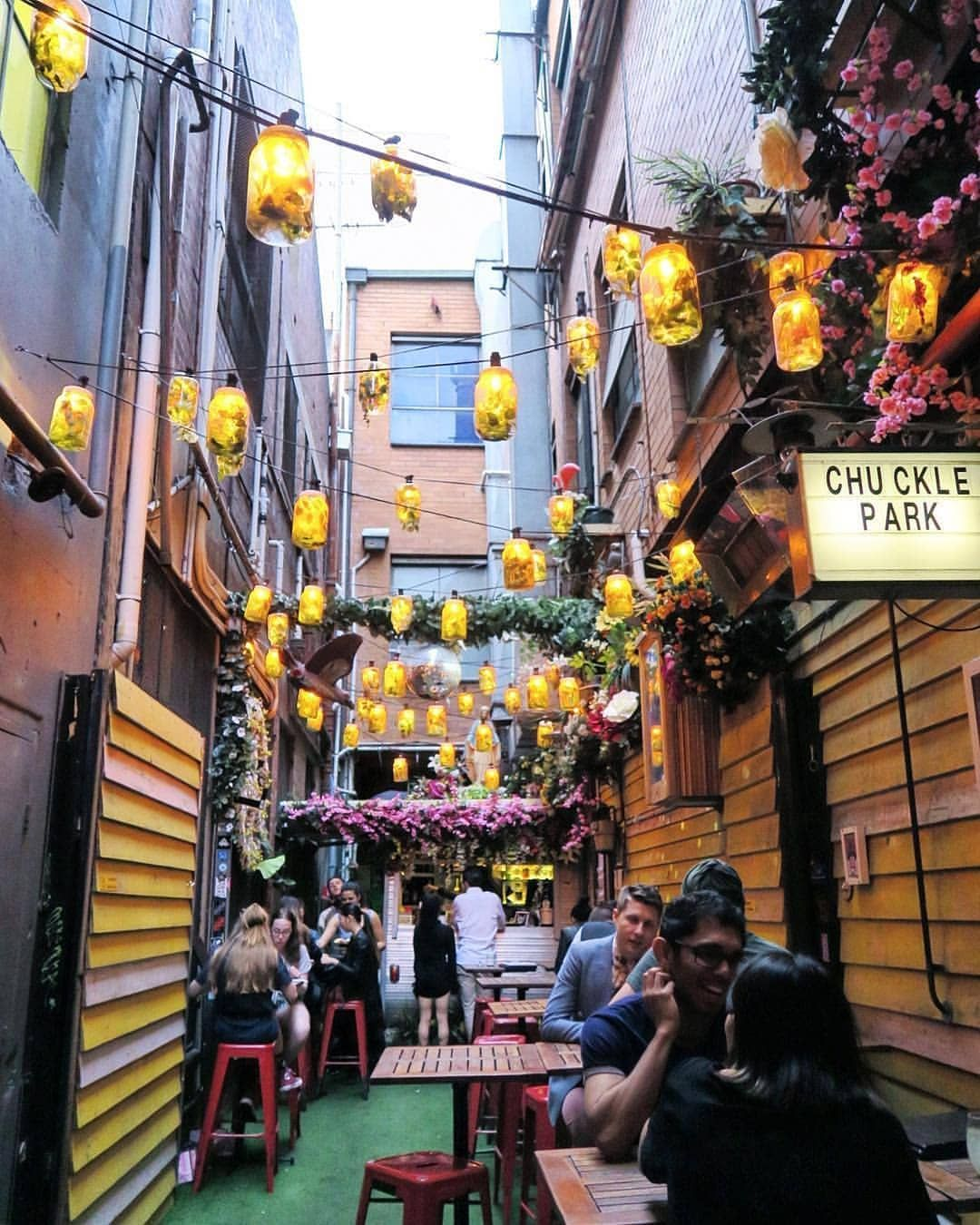 Try not to miss this cute laneway spot wedged between