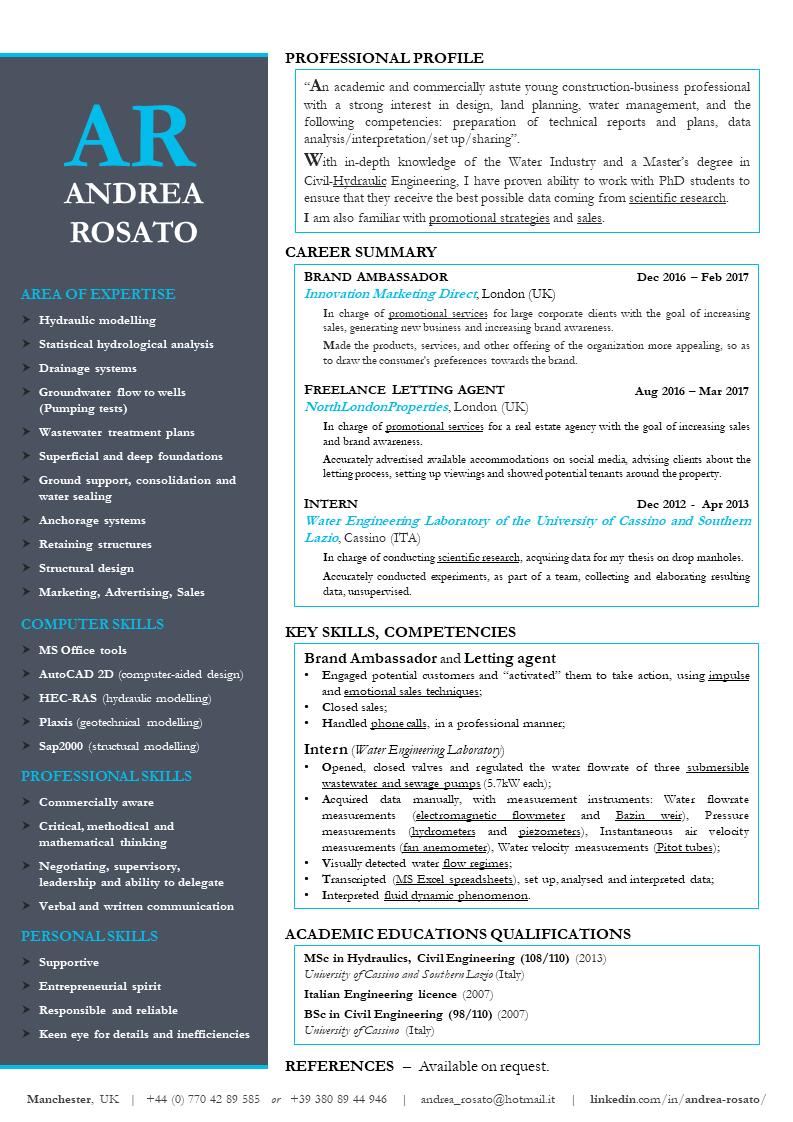 Pin By Andrea Rosato On Cv Curriculum Vitae Resume Phd Student Curriculum Vitae Resume Curriculum Vitae