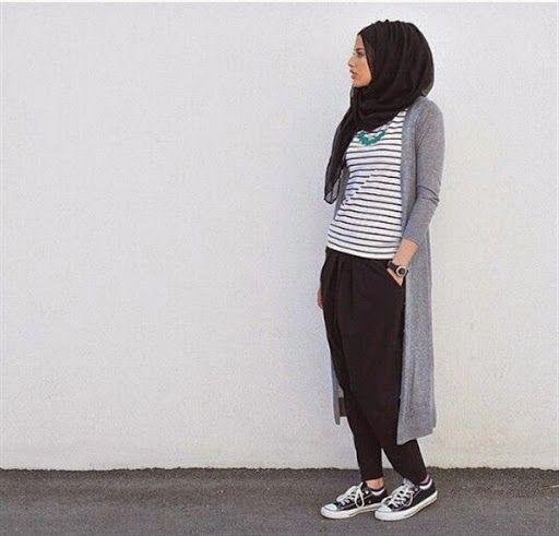 Model Busana Hijab Casual Remaja Terbaru 2015 Muslim Style