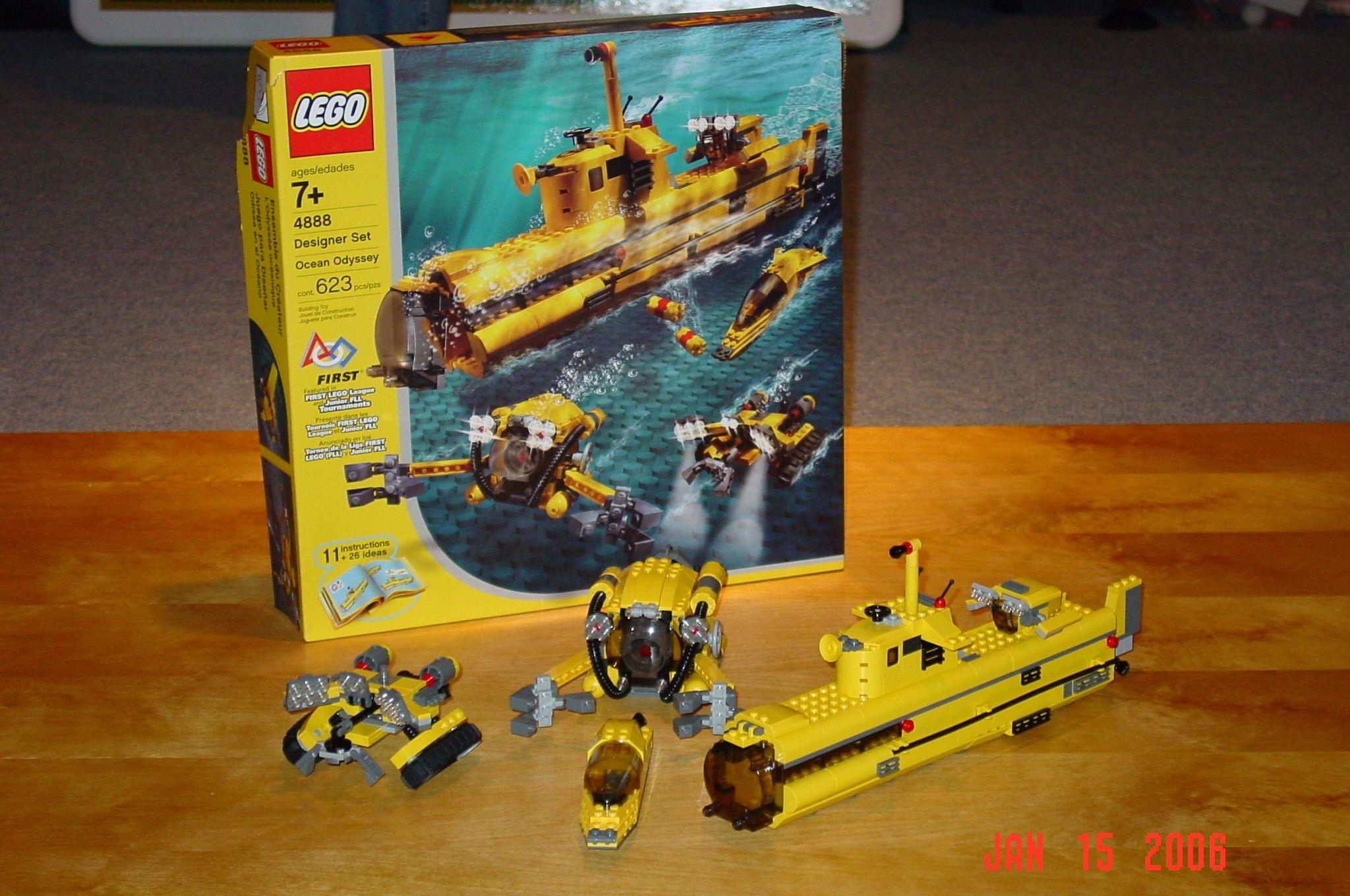 Lego 4888 Ocean Odessey Lego Lego Toys Nerf