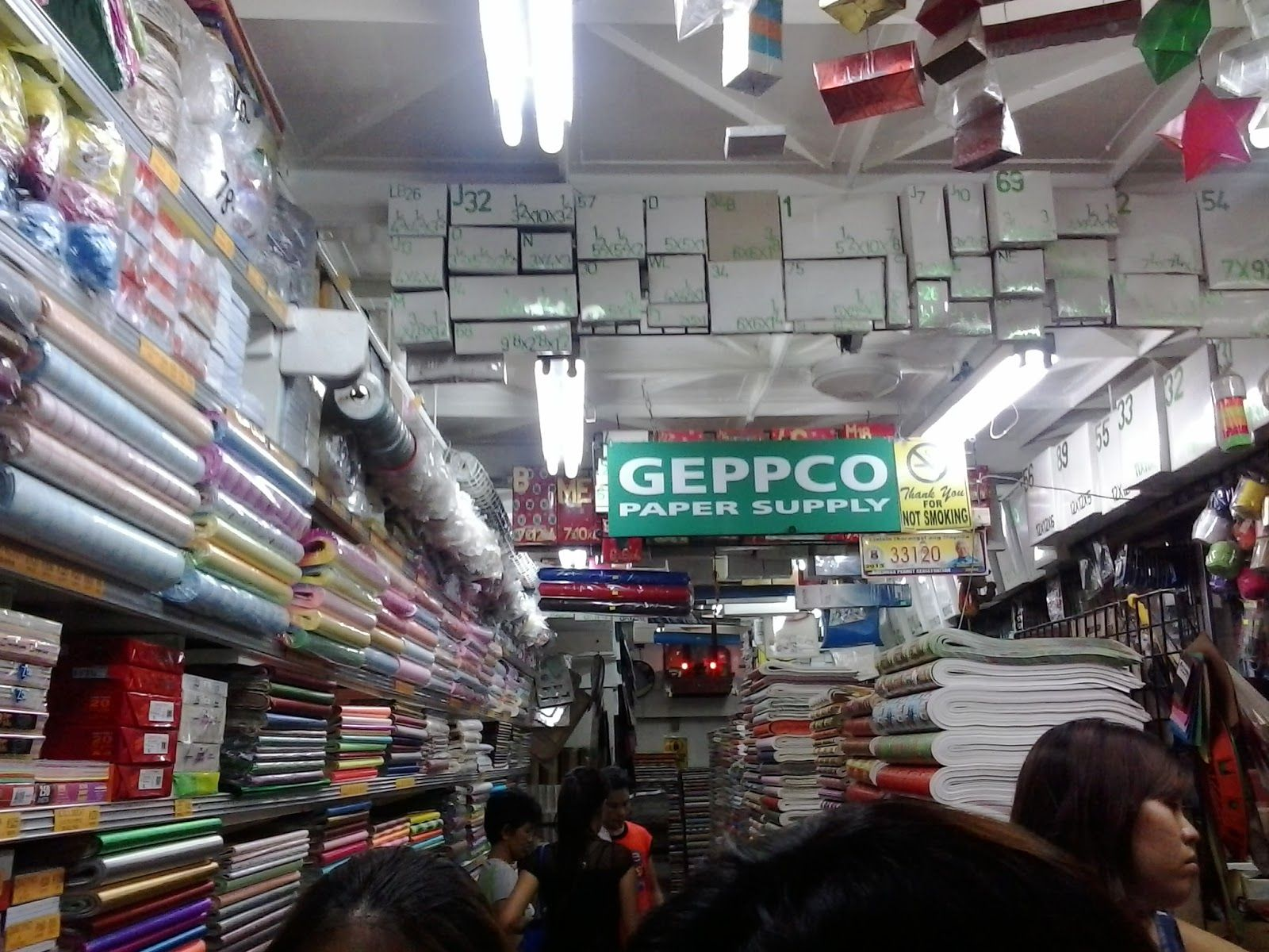 Geppco is a new discovery for me it is also in the tabora area this store sells different kinds of specialty papers nakakalula for a paper lover like me and the price definitely cheap solutioingenieria Choice Image