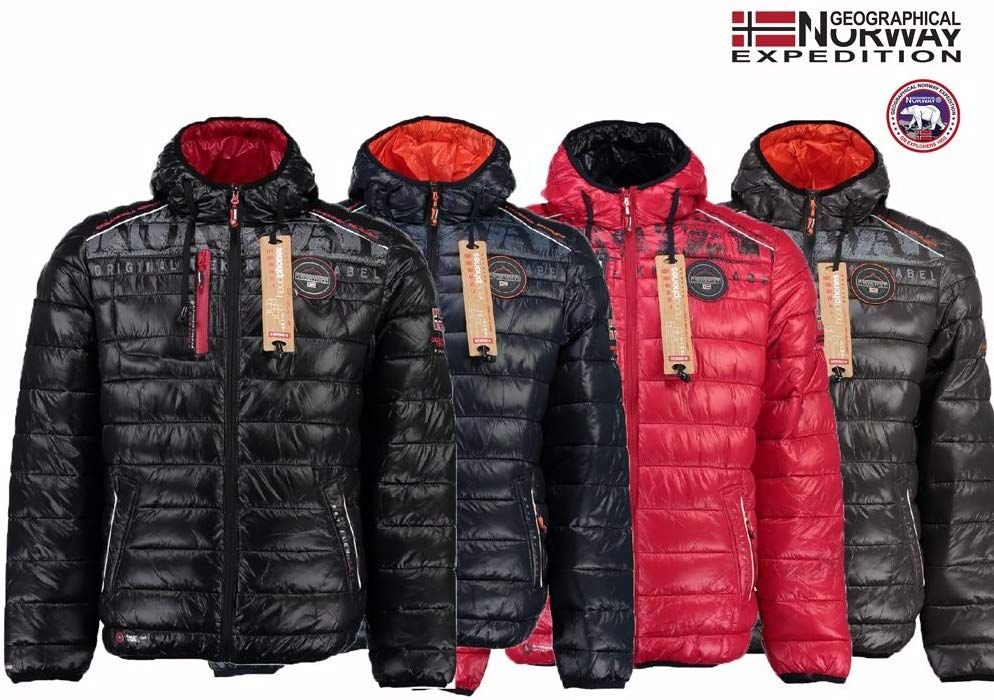 outlet store b803f 6baab Geographical Norway - Giacca - Uomo Black XXL: Amazon.it ...