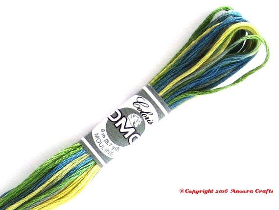 Coloris Embroidery Thread Spring