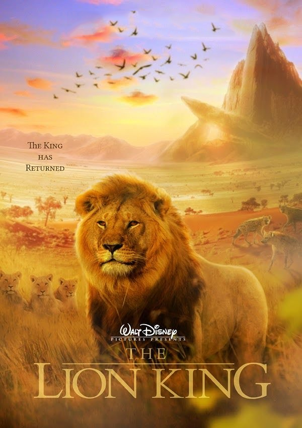 Apparently There Is Going To Be A Live Action Lion King Remake