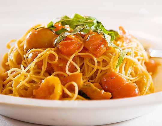 Capellini alla Checca | Il Piccolo Verde | #Italian #Restaurant | #Brentwood #LosAngeles