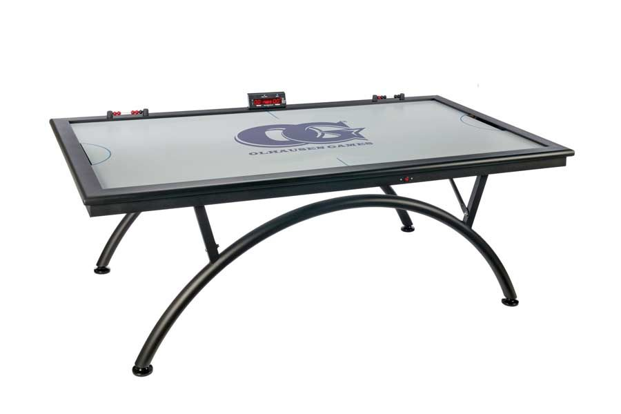 The Euro Air Hockey Table Is Seriously Stylish Yet Still Manages To Be As Powerful As Any Other Og Air Hockey Look Air Hockey Table Air Hockey Sunnydaze Decor