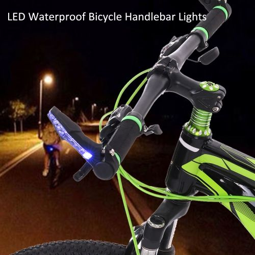 Led waterproof bicycle bike handlebar bar end lights warning light led waterproof bicycle bike handlebar bar end lights warning light lamp mtb racing riding cycling bar mozeypictures Choice Image