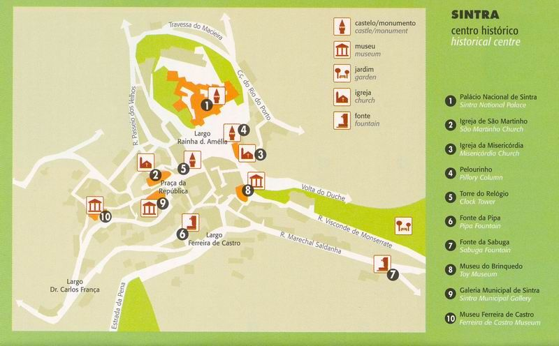 Map Of Sintra Google Search Portugal Pinterest Portugal - Portugal map google