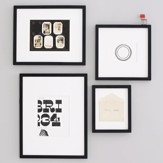 Gallery frames black