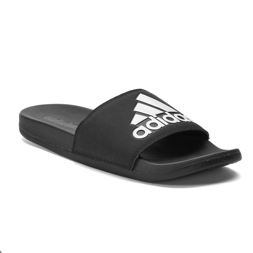 Mens slide sandals, Adidas adilette