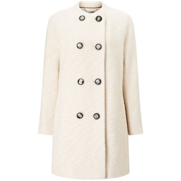 Windsmoor Boucle Wool Coat (€150) ❤ liked on Polyvore featuring ...