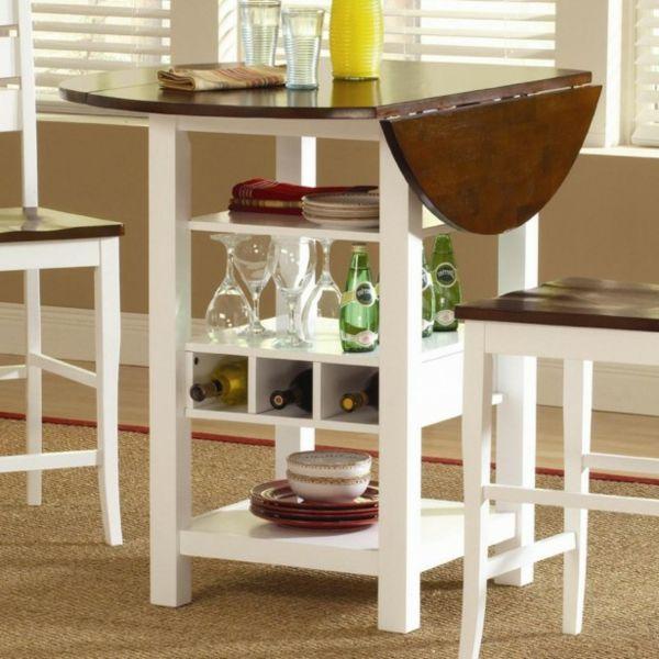 designs créatifs de table pliante de cuisine   table pliante
