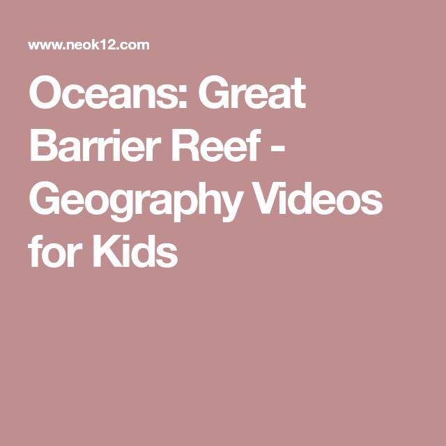 Oceans: Great Barrier Reef