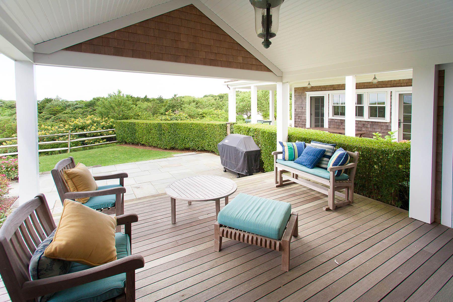 ipe outdoor decking living space