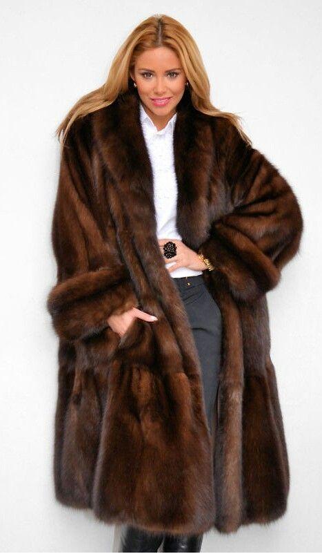 sable fur coat   Modern furs   Pinterest   Fur, Fur coats and Love it