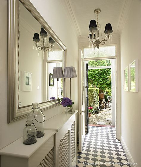 Making The Most Of A Narrow Hallway