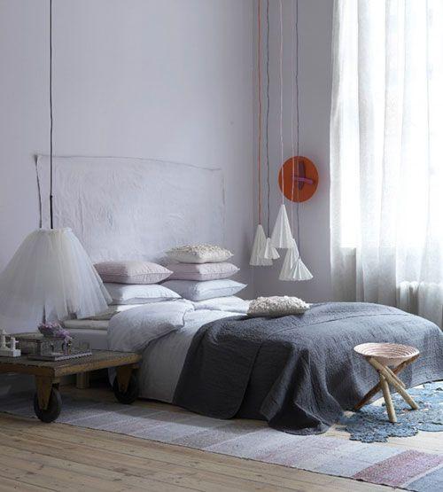 Slaapkamer kleuren ideeën | Interieur inrichting | спальня ретро ...