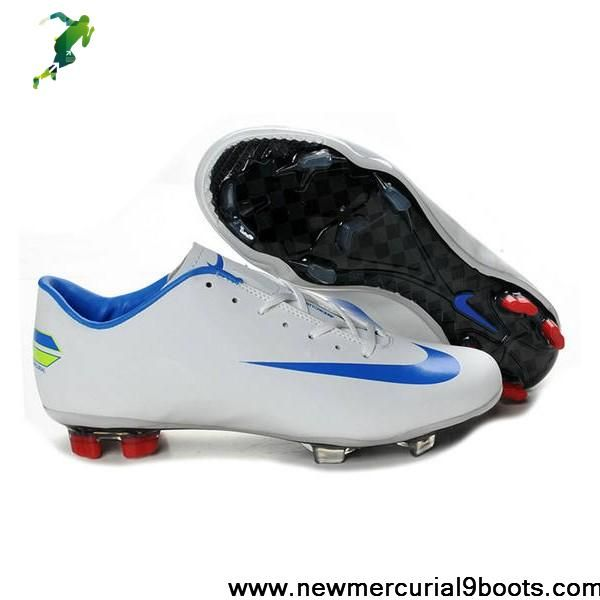 designer fashion 1533d 3ecb2 Buy Nike Mercurial Vapor Superfly Iv FG White Blue Red Football Boots Store