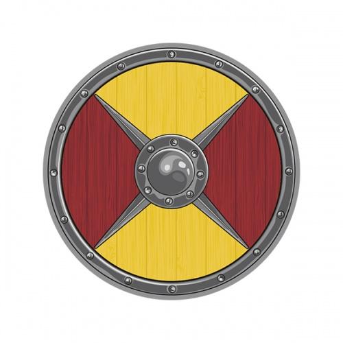 Kalf Earl Of Hedeby Viking Shield Vikings Sticker Decal V2 Vikings Aniversario