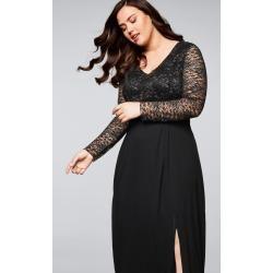 Reduzierte Lange Abendkleider für Damen
