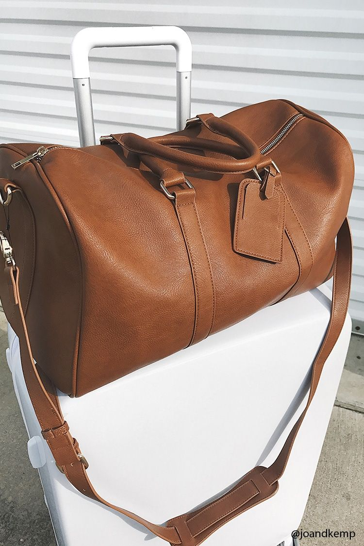 Faux Leather Duffle Bag 39 90 In 2019