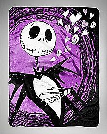 Jack Nightmare Before Christmas Fleece Blanket | Awesome shit ...