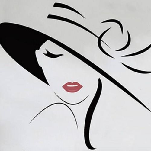Produit En 2020 Peinture De Silhouette Dessin De Visage Dessin De Visages