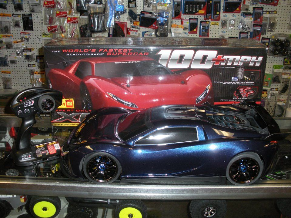 Traxxas XO1, just arriving in store! Super cars