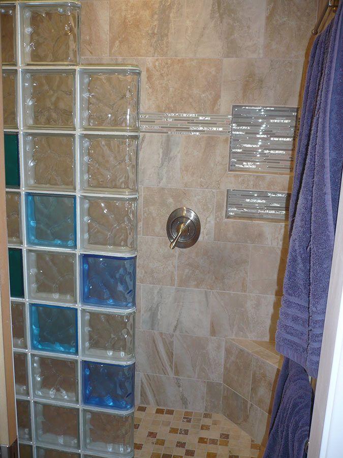 Glass Block Shower Wall Walk In Designs Nationwide Supply