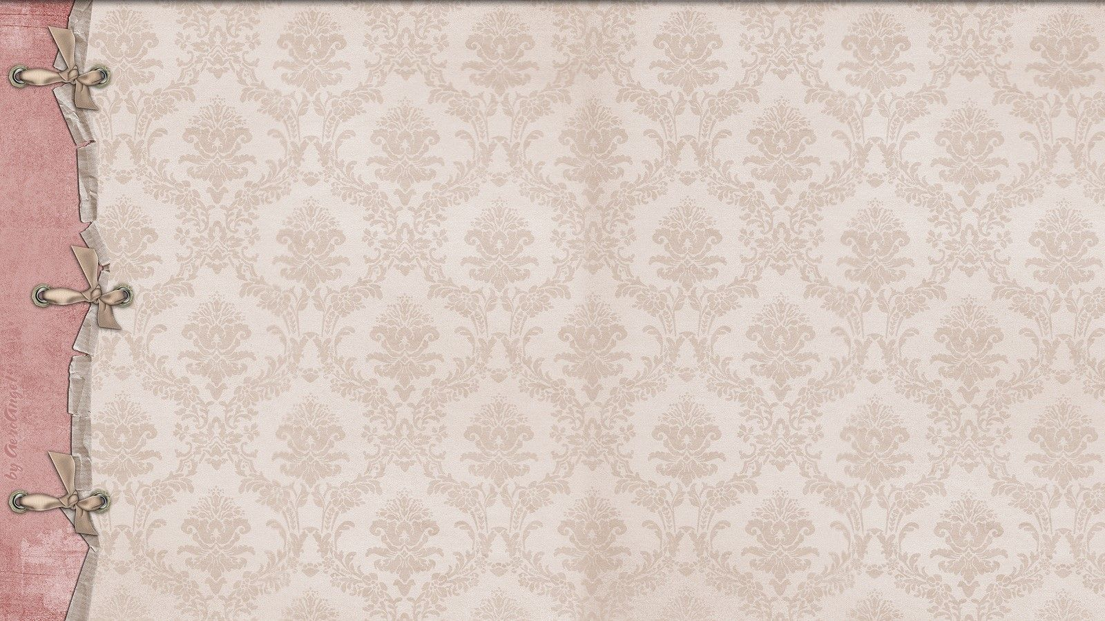 Retro Girly Wallpaper