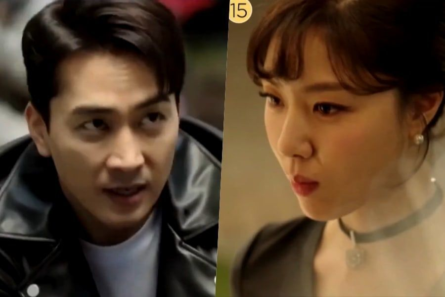 "Watch: Song Seung Heon And Seo Ji Hye Go From Hate To Love In Teaser For Upcoming Drama ""Dinner Mate"""