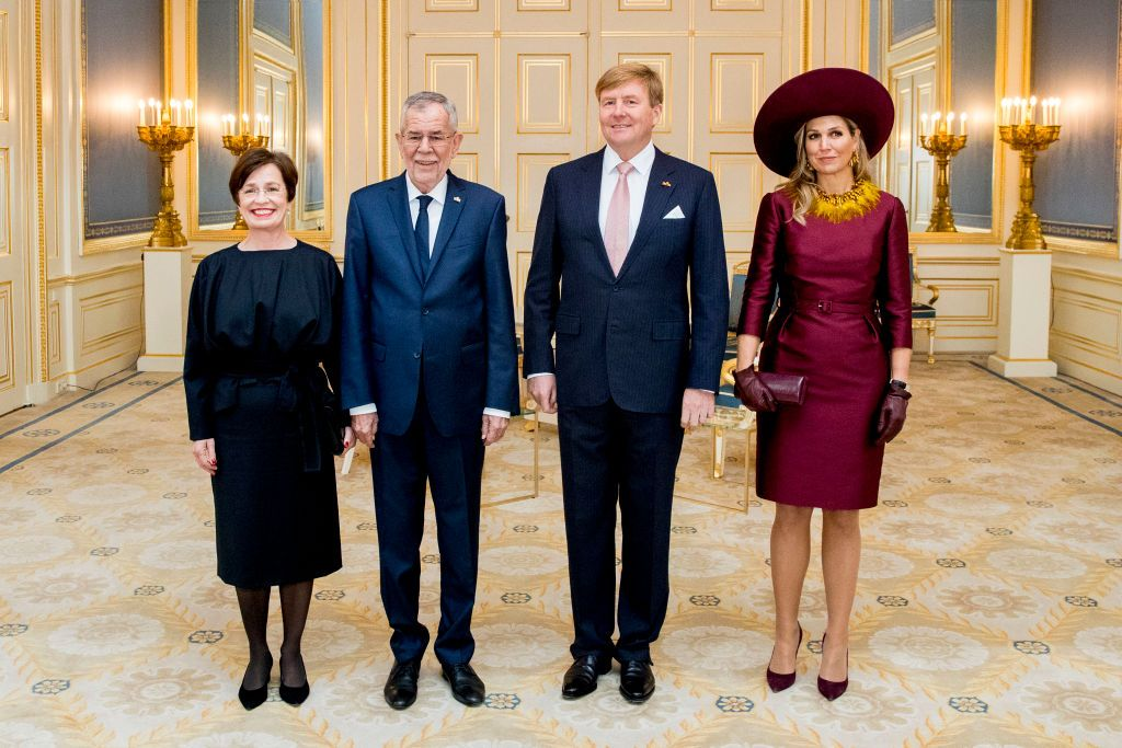 The Hague Netherlands November 14 King Willem Alexander Of The