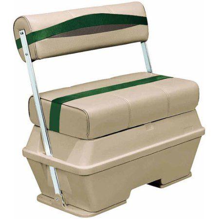 Wise Premier Series Pontoon 70 qt Flip Flop Cooler Seat