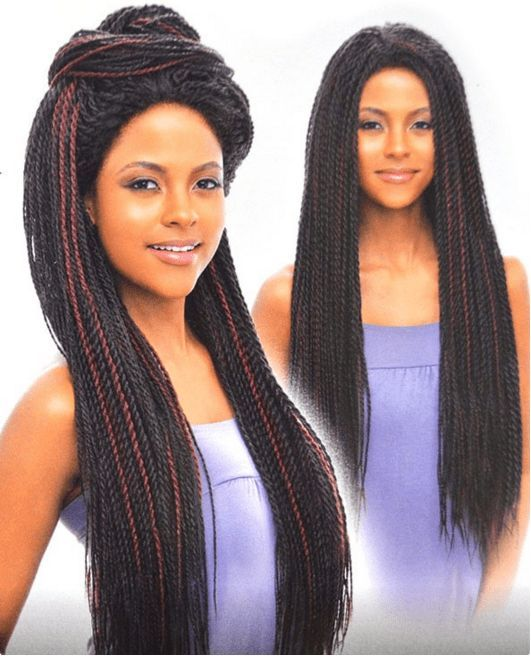 Vanessa Senegal Braid Lace Front Wig Tops Dakar Twist 1 Hand