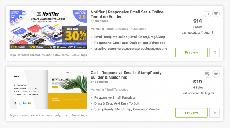 The 9 Free Email Marketing Templates You Need To Execute Everything Coschedule Blog Email Marketing Templates Free Email Marketing Template Email Marketing