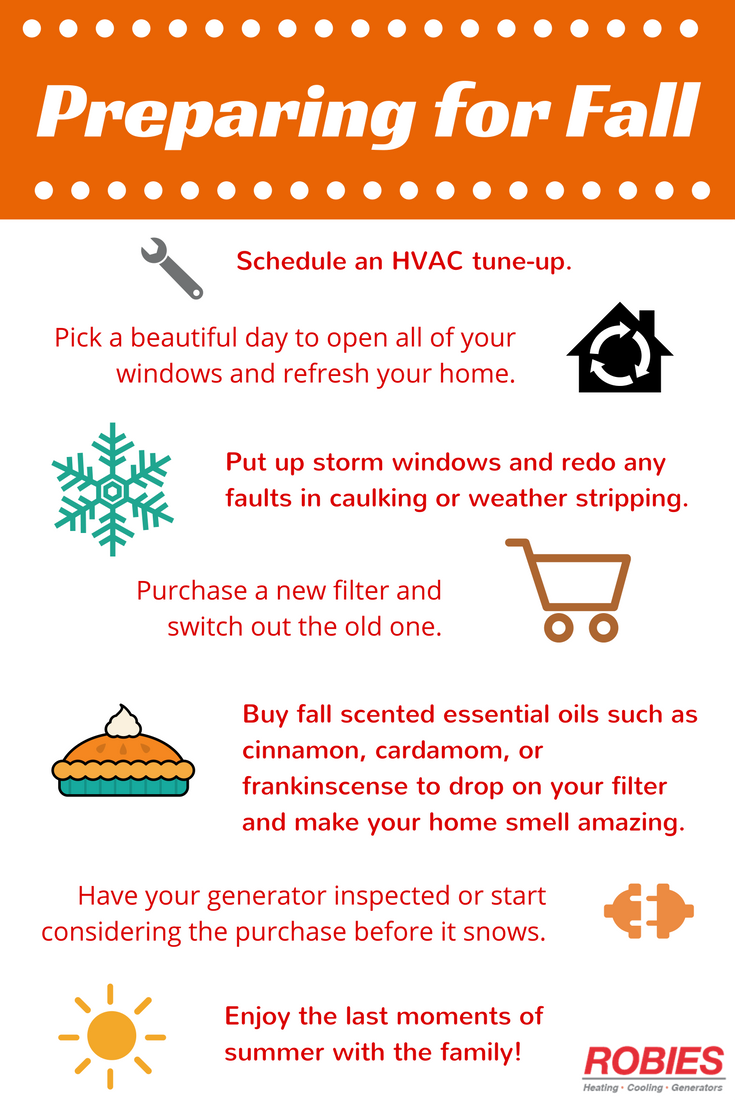 Some Simple Steps You Can Take To Help Prepare Your Home For Fall