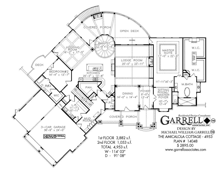 Meadow Lane Cottage House Plan 06396 2nd Floor Plan Mountain