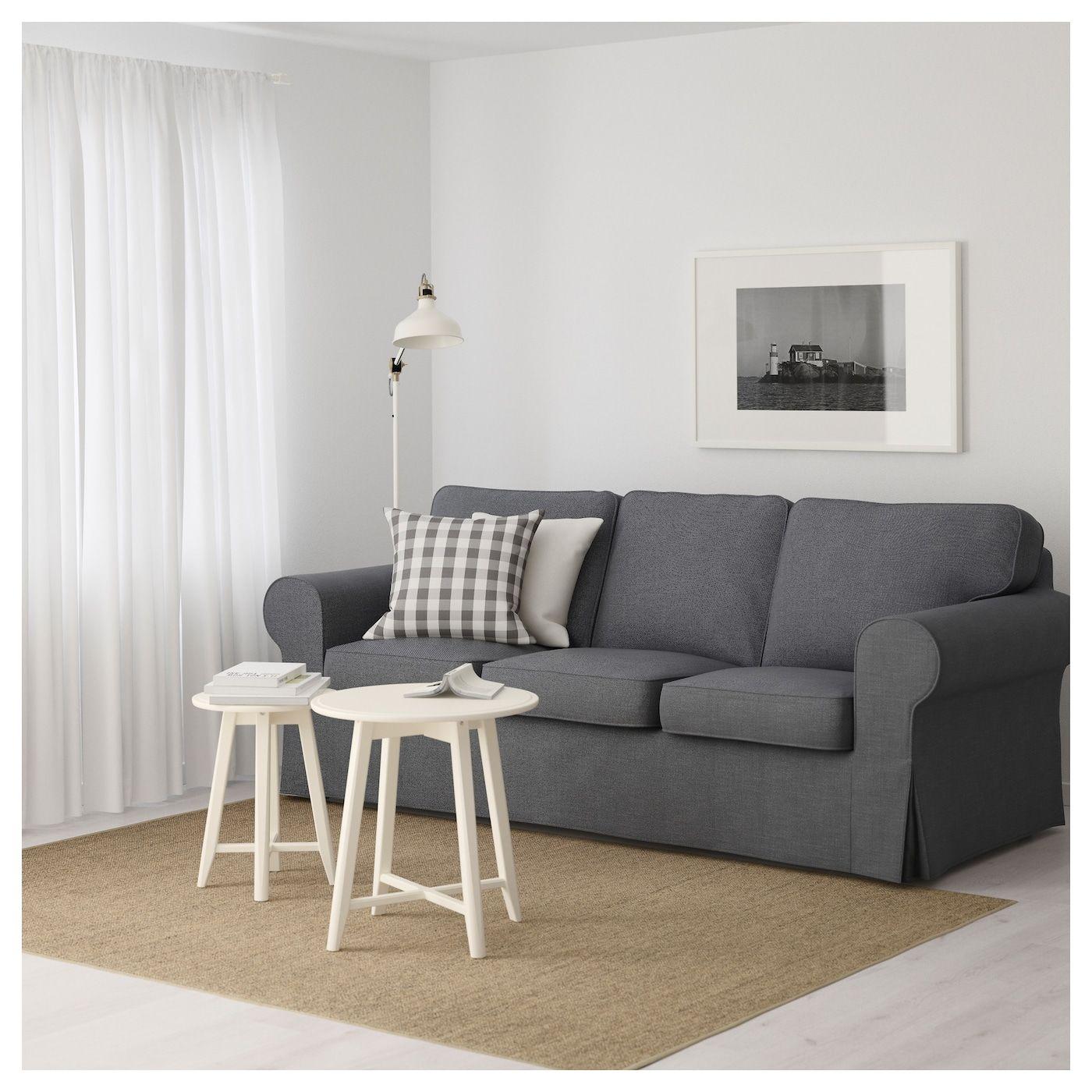Ektorp 3er Sofa Nordvalla Dunkelgrau Ikea Deutschland Ektorp Sofa Bettsofa Kleines Sofa