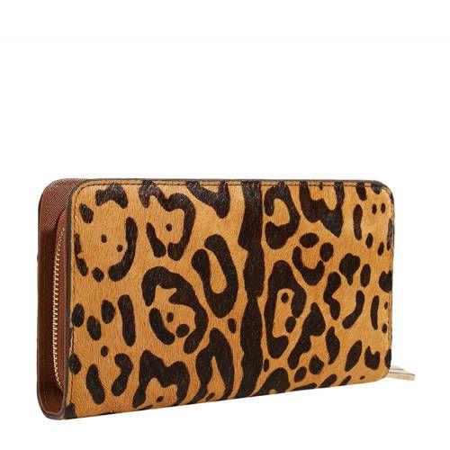 290d82a2ecf Parfois tijgerprint portemonnee camel