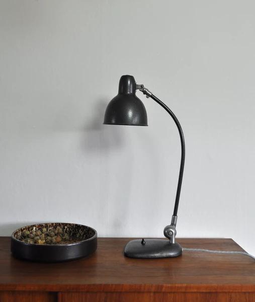 Industrial Danish Bauhaus Desk Lamp 1930 40s Njord Vintage Lamp Desk Lamp Scandinavian Lamps